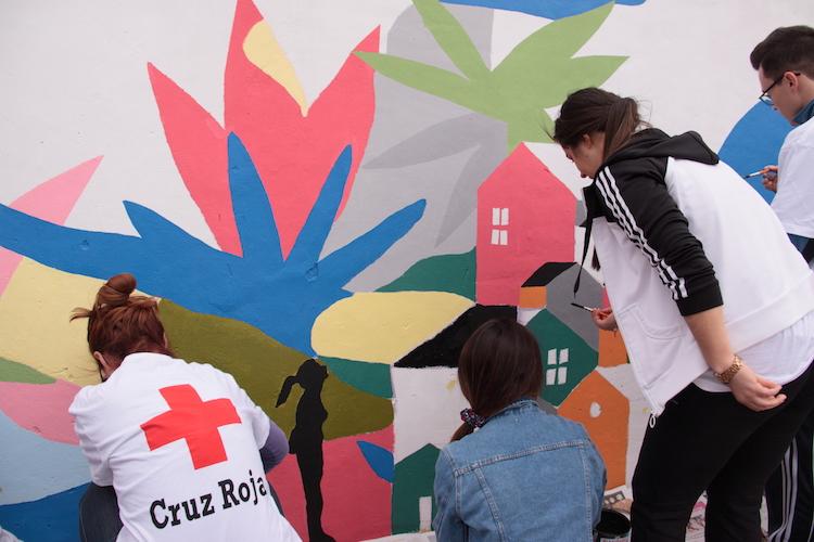 Los Murales de San Isidro se consolidan en 2018 como uno de los referentes culturales de homenaje a Miguel Hernandez mas emblemático del ámbito nacional